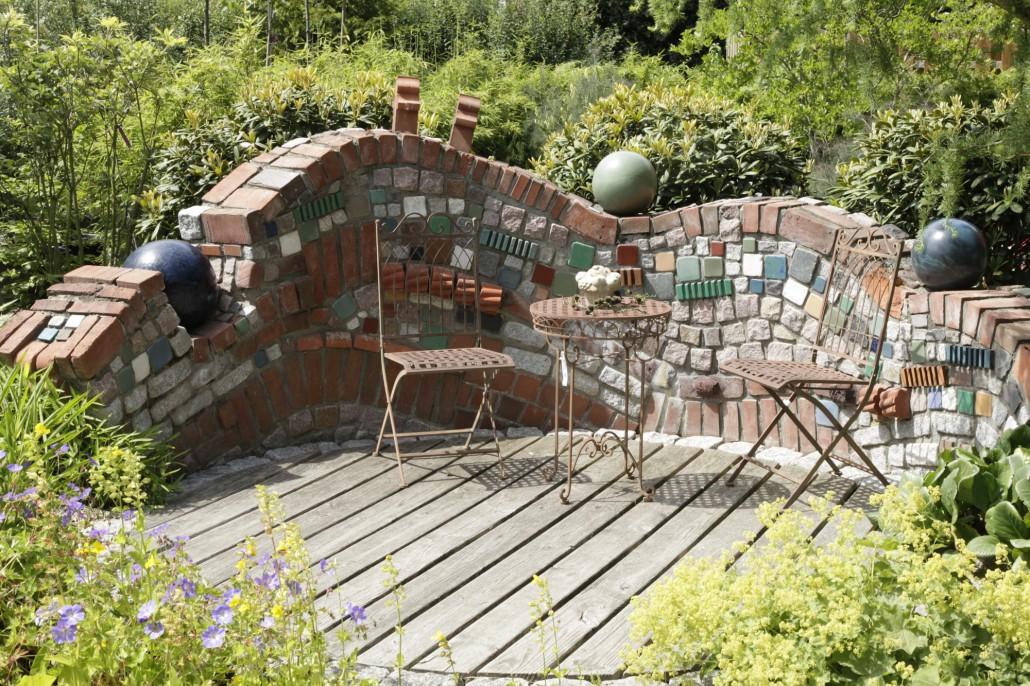 Sichtschutz Garten Stein Silvergame Club